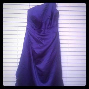 Regency purple Dress